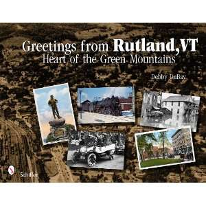 VT Heart of the Green Mountains (9780764337307) Debby DuBay Books