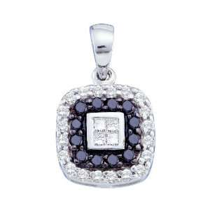14k White Gold 0.51 Dwt Diamond Fashion Pendant