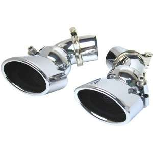 New Mercedes E320/E500 Exhaust Tips   Stainless Steel 03