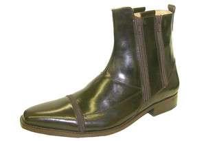 Giorgio Brutini Genuine Leather Mens Boots 21035 Dark Brown All Sizes