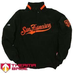 San Francisco Giants MLB Therma Base Elevation Premier Jacket (Black