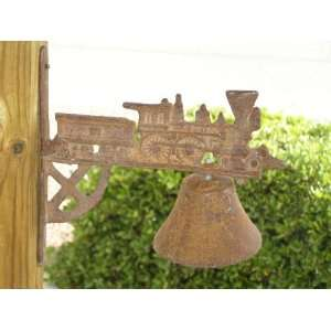 Old Cast Iron Bell   Train Kitchen & Dining