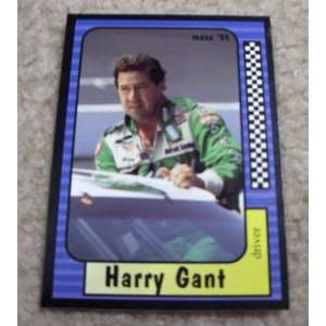1991 Maxx Harry Gant # 33 Nascar Racing Card Sports