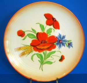 Rosenthal Keramik Germany Orange Poppy Large Platter FR