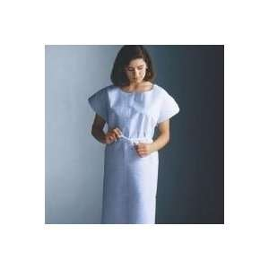 Gown Exam 3 Ply Tissue 42x30 Blue Disposable 50/Ca by, Graham Medical