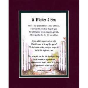 MOTHER & SON, mother to son, mother poem, mom poems, gifts for