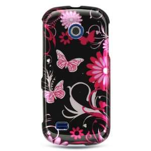 PINK BLACK BFLY CASE for ETERNITY 2 SAMSUNG