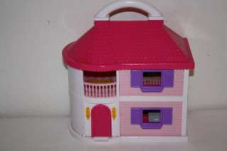 Up House Playset Blue Box Lot Furniture Accessories Figures