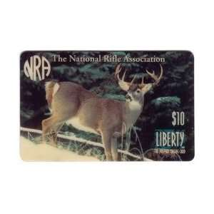 Phone Card $10. National Rifle Association (NRA) 9 Point Buck Deer