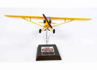 PIPER J 3 CUB DESKTOP MODEL AIRCRAFT PERFECT GIFT FOR ALL DISPLAY ITEM