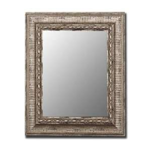 280103 Cameo 39x49 Antique Silver Wall Mirror 280103