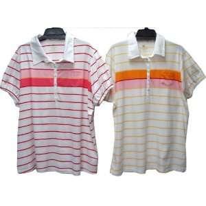 Womens Plus Size Short Sleeve Stripe Top Case Pack 24