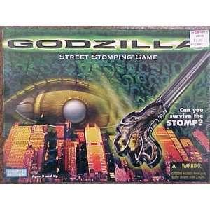 Godzilla Street Stompin Game Board Game 1998 Parker
