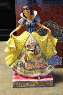 NIB Disney Traditions SNOW WHITE Fairy Tale Jim Shore