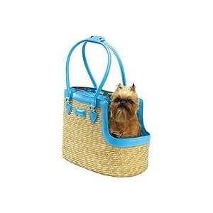 Casual Canine Hawaiian Hound Straw Pet Carrier
