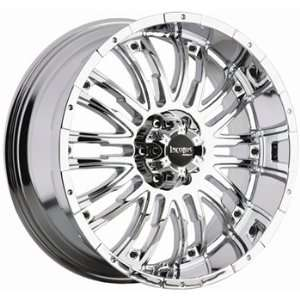 Incubus Hondo 18x8.5 Chrome Wheel / Rim 5x4.5 with a 12mm Offset and a