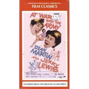 At War with the Army [VHS] Jerry Lewis Movies & TV