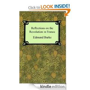 Reflections on the Revolution in France Edmund Burke