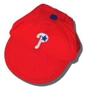 Philadelphia Phillies Dog Puppy Pet Baseball Hat Cap