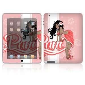 Apple iPad 2, New iPad 3 Decal Skin Sticker   Puni Doll