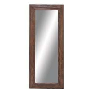 Pin wood framed mirrorjpg on pinterest for Decorative full length wall mirrors