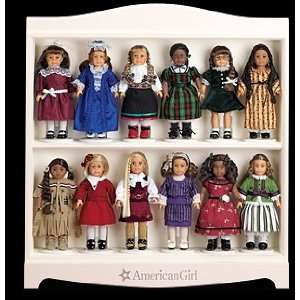 American Girl Mini Doll Display Shelf Toys & Games