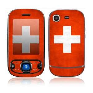 Flag of Switzerland Decorative Skin Cover Decal Sticker for Samsung
