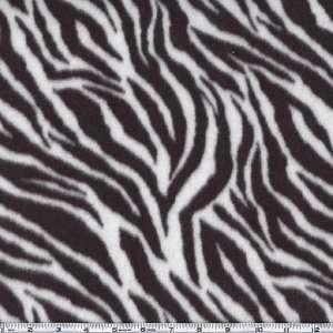3c551b9e49bf2 ... 60 Wide Nordic Fleece Fabric Zebra Black By The Yard ...