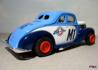 Roberts Vintage 1940 MODIFIED Ford Stock Car   1:24 diecast race car