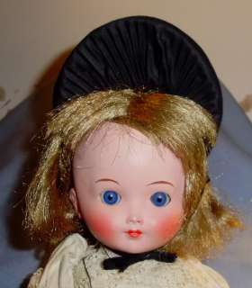 1940 SWISS ? with Glass eyes Ethnic Foreign Costume DOLL