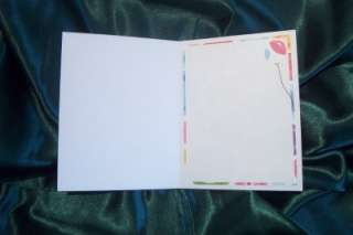 Handmade Greeting Card  Happy Birthday Bright and Colorful