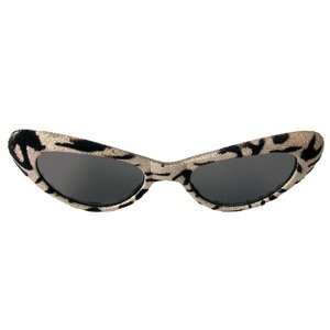 Lets Party By elope 1950s Cat Eye Glasses   Gold & Black