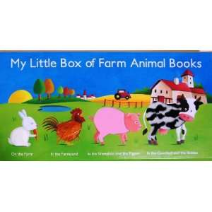 Little Box of Farm Animal Books [Four Books Boxed Set] Toys & Games