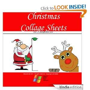 Christmas Craft Kids Collage Sheets (QuickCraft) QuickCraft