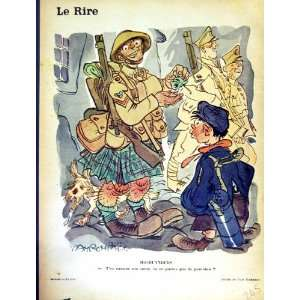 LE RIRE (THE LAUGH) FRENCH HUMOR MAGAZINE WAR SOLDIERS: Home & Kitchen
