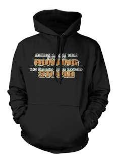 Between Hunting And Sweatshirt Hoodie Stupid Funny Hilarious