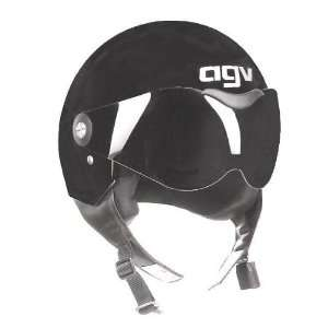 AGV Dragon Open Face Motorcycle Helmet Black Extra Small