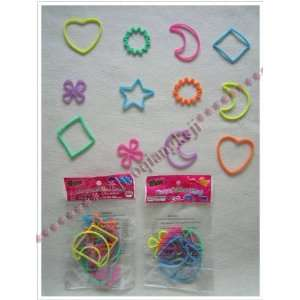 glow solid colors silicon rubber shaped bands shaped