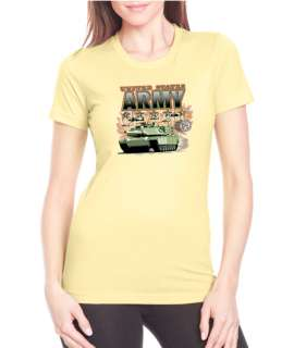 Army M1A2 Apache Scene Next Level Tee Shirt