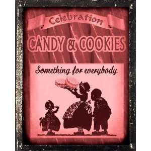 Candy gift shop Sign Wall decor   suckers cookies licorice