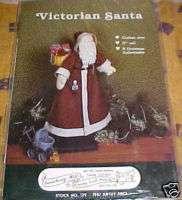 Victorian Santa, Gooseberry Hill,Santa Doll Sew Pattern
