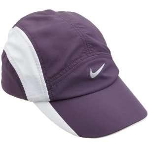 Nike Womens Dri FIT Cap, Dark Raisin/White/White Sports
