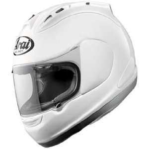 Solid Full Face Motorcycle Riding Race Helmet   White Automotive