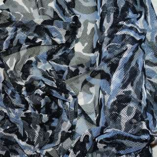 CAMO DEER BLIND MESH FABRIC STRETCH 58 BY THE YARD