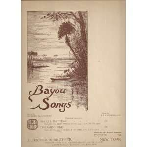 Bayou Songs Lily Strickland Books