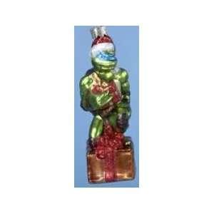 Teenage Mutant Ninja Turtles TMNT Leonardo Glass Ornament
