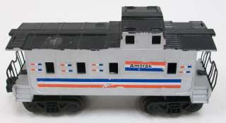 Lionel Postwar Caboose Custom Painted w/ Amtrak Decals