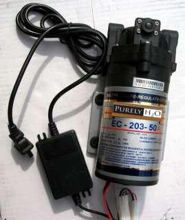 Pump Reverse Osmosis Water Filter 50GPD High Flow Pressure RODI Pump