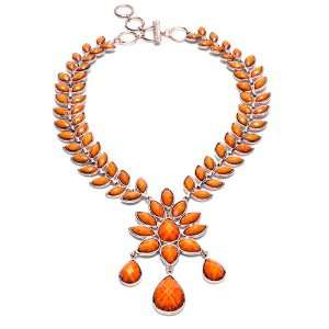 Amrita Singh Dune Necklace (Honey Gold): Amrita Singh: Jewelry