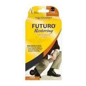 Futuro Restoring Mens Dress Socks Firm 20 30mm Brown